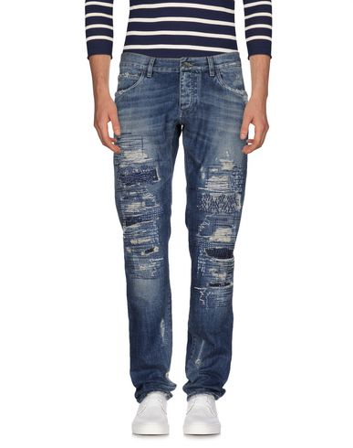 Dolce & Gabbana Denim Pants In Blue