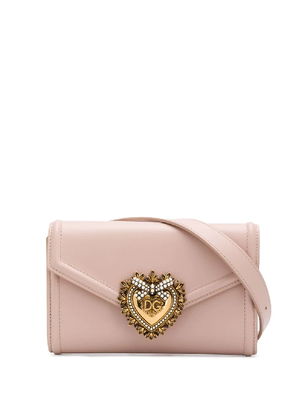 2110585d091 Dolce & Gabbana Devotion Belt Bag - Pink