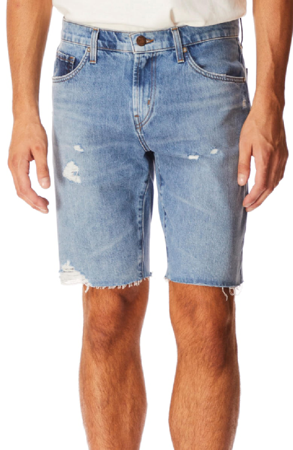 J Brand Eli Cutoff Denim Shorts In Shimbus