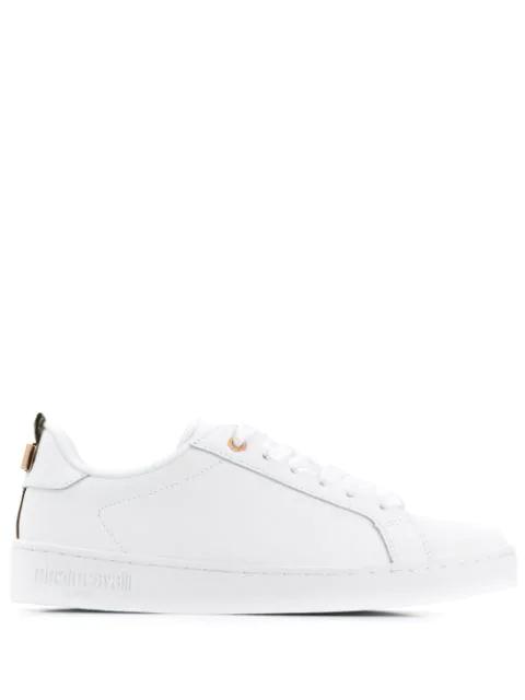 Roberto Cavalli Sneakers Mit SchnüRung - Weiß In White