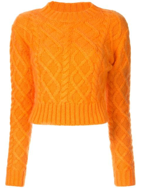 Aje Talia Jumper - Orange