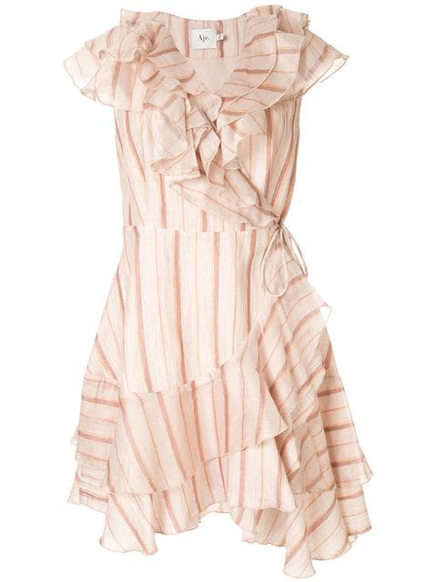 Aje 'Florence' Kleid - Rosa In Pink