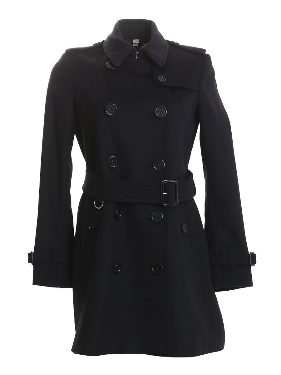 Burberry Black Kensington Coat