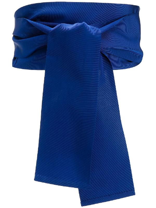 Sara Roka Obi Belt In Blue