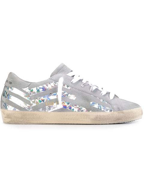 Golden Goose Leather Super Star Sneakers