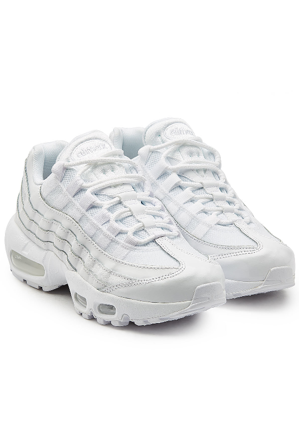 Air Max 95 Sneakers With Mesh in White