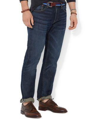 Polo Ralph Lauren Men's Big And Tall Hampton Relaxed Straight Jean In Morris