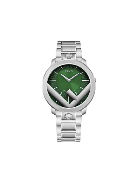 Fendi Run Away Watch In Green