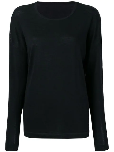 Sottomettimi Relaxed-fit Jumper In Black