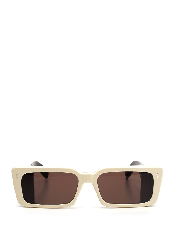 Gucci Eyewear Rectangular Sunglasses In Multi