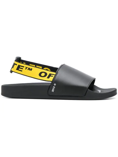Off-White Industrial Back Strap In Black