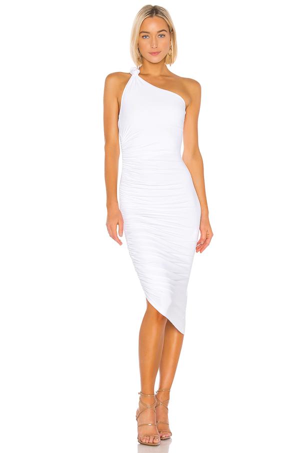 Alix Celeste Dress In White