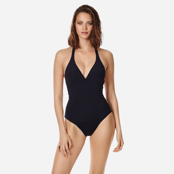 Vilebrequin Women Shaping One Piece Swimsuit Solid In Black