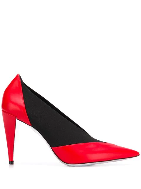 Givenchy Elastic Smooth Pumps In Black