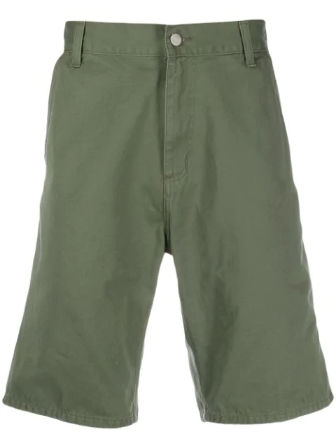 Carhartt Knee-high Bermuda Shorts In Green