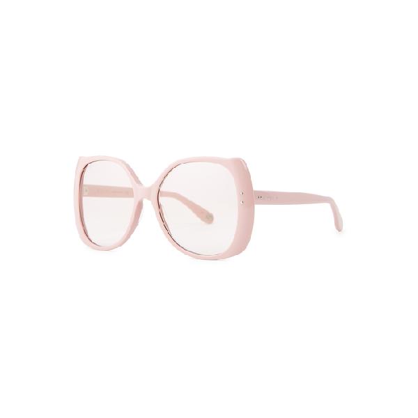 Gucci Pink Oversized Sunglasses