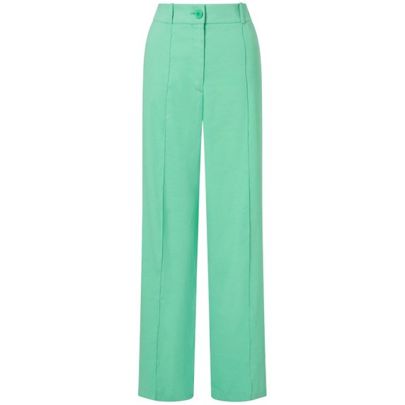 check out huge discount special section Jigsaw Portofino Linen Flare Trouser In Peppermint   ModeSens