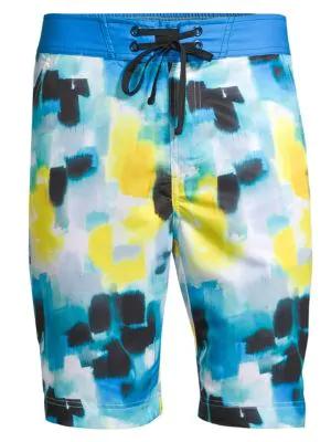 2fe90b5f75 Robert Graham Madeira Printed Swim Shorts In Multi   ModeSens