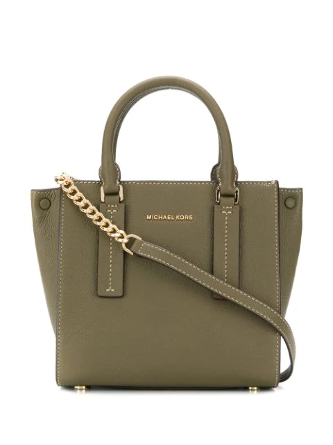 Michael Kors Alessa Tote Bag In Green