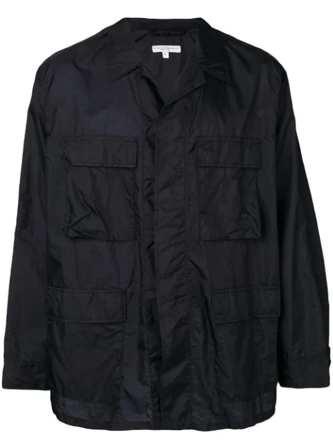 Engineered Garments Multiple Pocket Lightweight Jacket - Blue