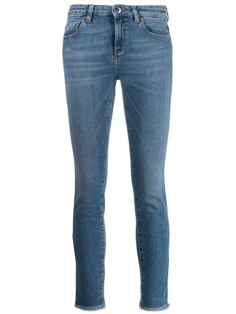 Pinko Stonewashed Skinny Jeans - Blue