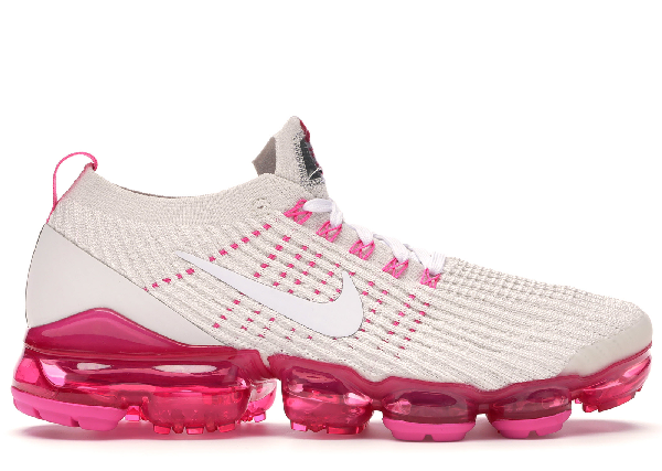 online store ebdc4 96ea4 Women's Air Vapormax Flyknit 3 Running Shoes, Pink/White - Size 6.5