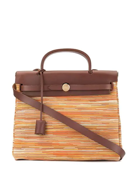 Hermes 2002 Pre-owned Her Bag Pm 2 In 1 2way In Multicolour