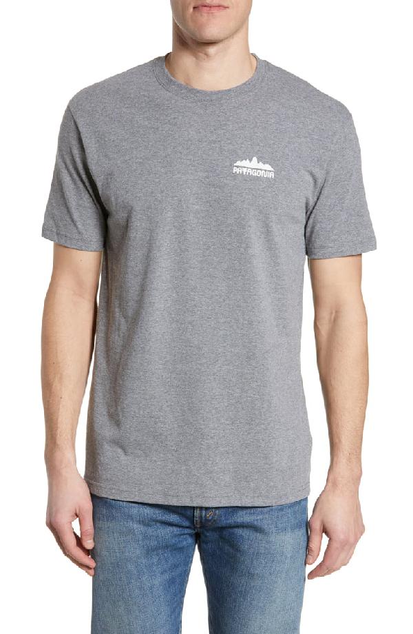 Patagonia Partyledge Responsibili-Tee T-Shirt In Gravel Heather