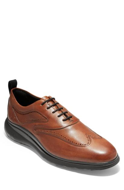 Cole Haan 3.Zerogrand Wingtip In British Tan Leather