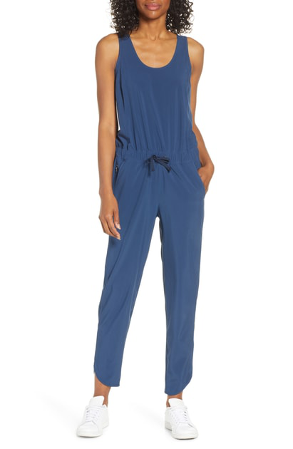 Patagonia Fleetwith Jumpsuit In Stone Blue
