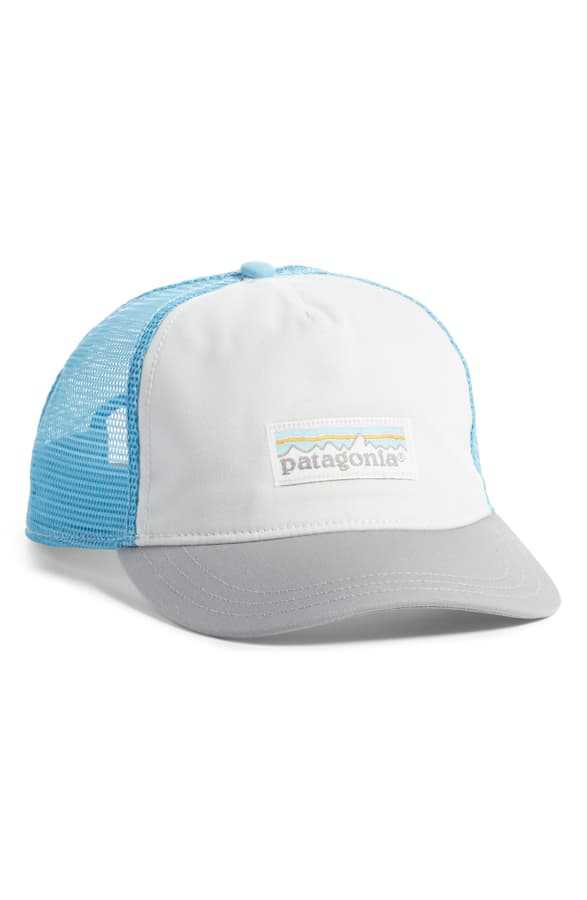 Patagonia Trucker Hat - Grey In White/ Drifter Grey