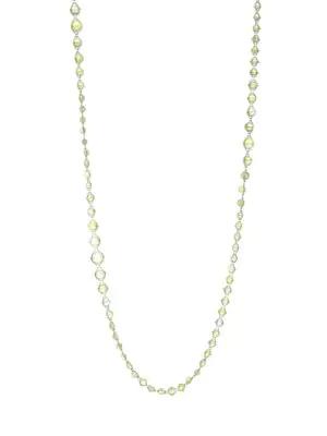 Amali 18k Yellow Gold Opal Necklace