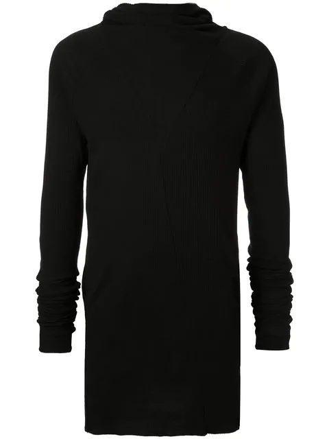 Army Of Me Long Turtleneck Sweater In Black