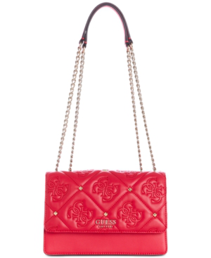Guess Jeana Crossbody In Passion/Gold