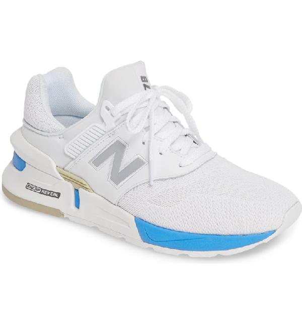 online store 34cb0 b704d 997 Sport Sneaker in White