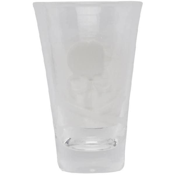 Mastermind Japan Mastermind World Transparent Logo Beer Glass In Black