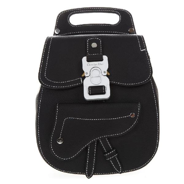 dec98481f7bf Dior Homme Buckled Backpack In Black