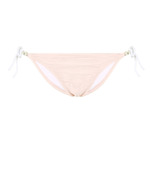 Heidi Klein San Marino Tie Side Bikini Bottoms In Pink