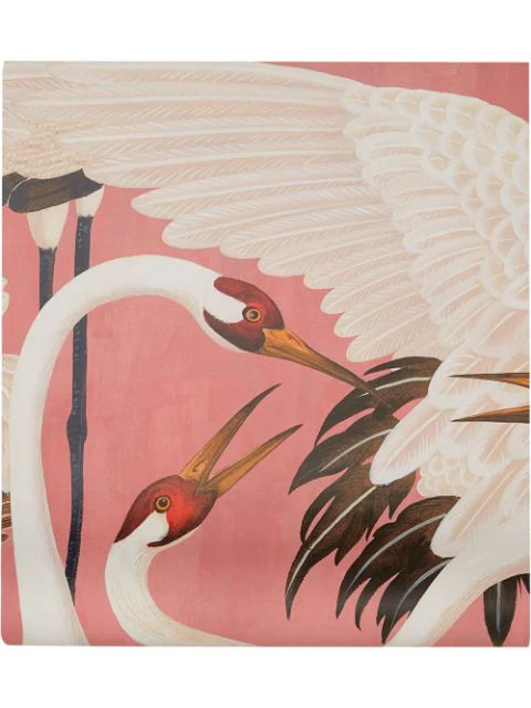Gucci Heron Print Wallpaper Panels