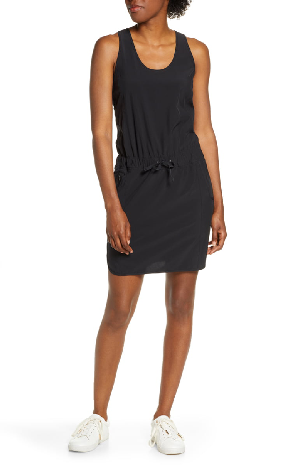 Patagonia Fleetwith Drawcord Dress In Black