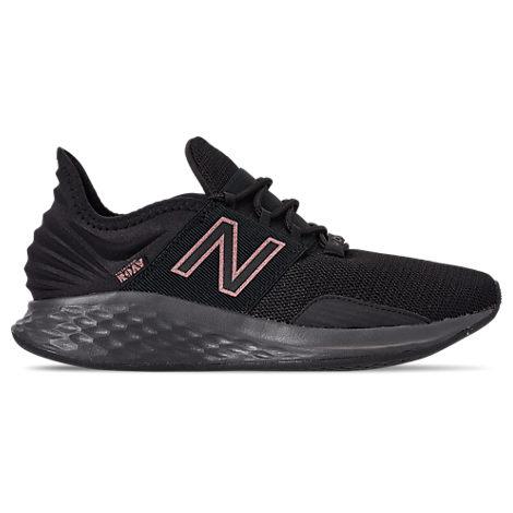 New Balance Women's Fresh Foam Roav Running Shoes In Black Size 7.0