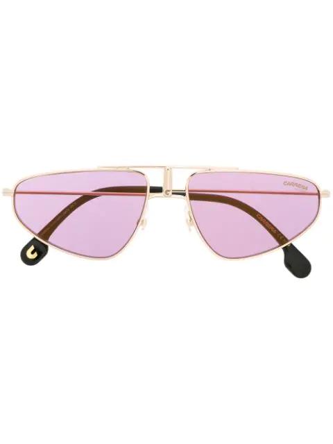 Carrera Para Ótica Ventura Aviator Style Sunglasses In Gold