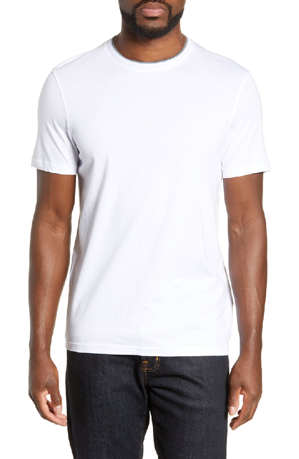 Ted Baker Sink Slim Fit T-Shirt In White