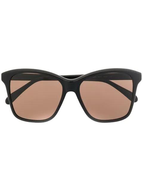 Givenchy 55mm Gradient Square Sunglasses - Black