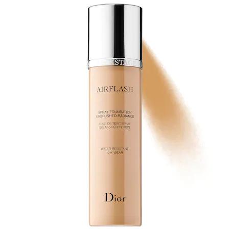 Dior Airflash Spray Foundation 2.5 Warm Olive (321) 2.3 oz/ 70 ml In 321 Amber Beige