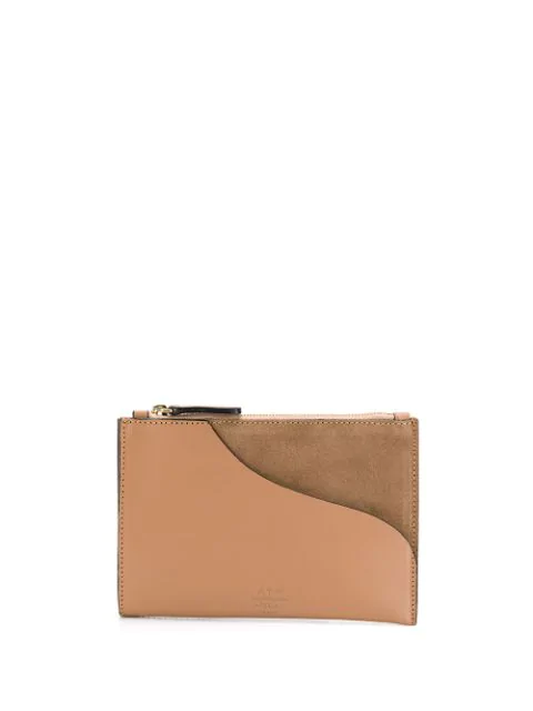 Atp Atelier Tino Coin Wallet In Brown