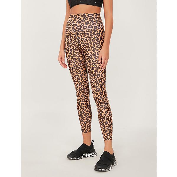 afe311632088 Beach Riot Piper Stretch-Jersey Leggings In Leopard | ModeSens