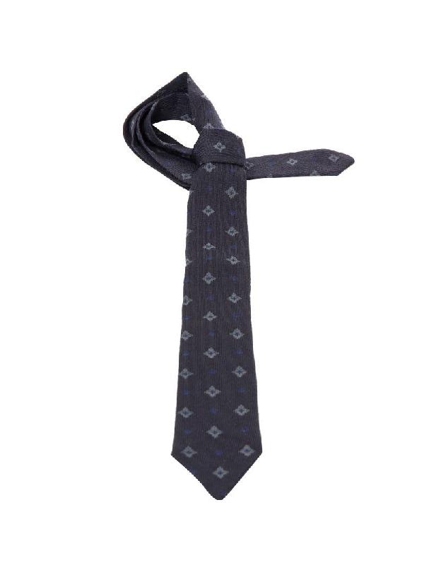 Roda Blue Wool Tie