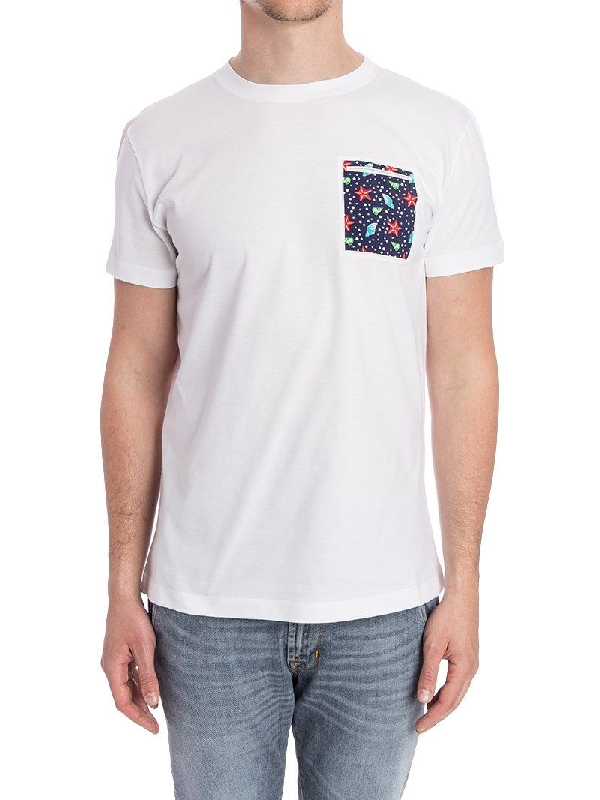 Roda White Cotton T-Shirt