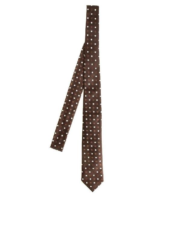Roda Brown Silk Tie